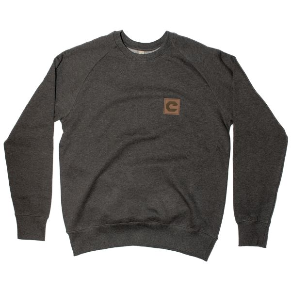 """Old School """"C"""" Patch Sweater"""